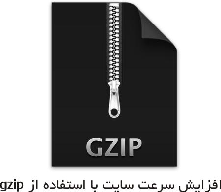 افزایش سرعت سایت با gzip